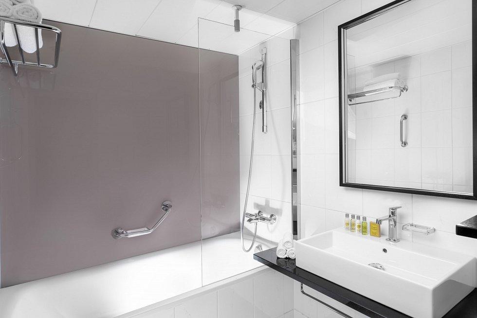 Hilton Prague – koupelna v rodinném pokoji