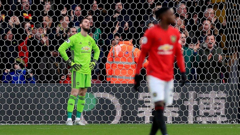 Brankář Manchesteru United David De Gea