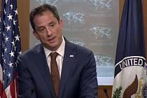 Mluvčí amerického ministerstva obrany Robert Palladino