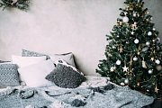 Skandinávská vánoční výzdoba
