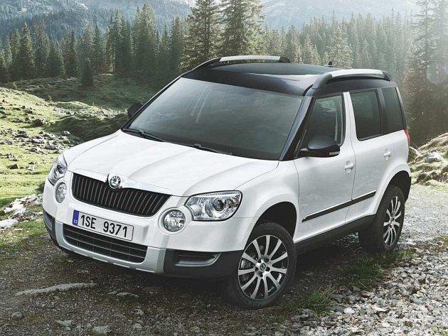 Škoda má zatím v nabídce jediné SUV - model Yeti, který brzy dostane facelift.