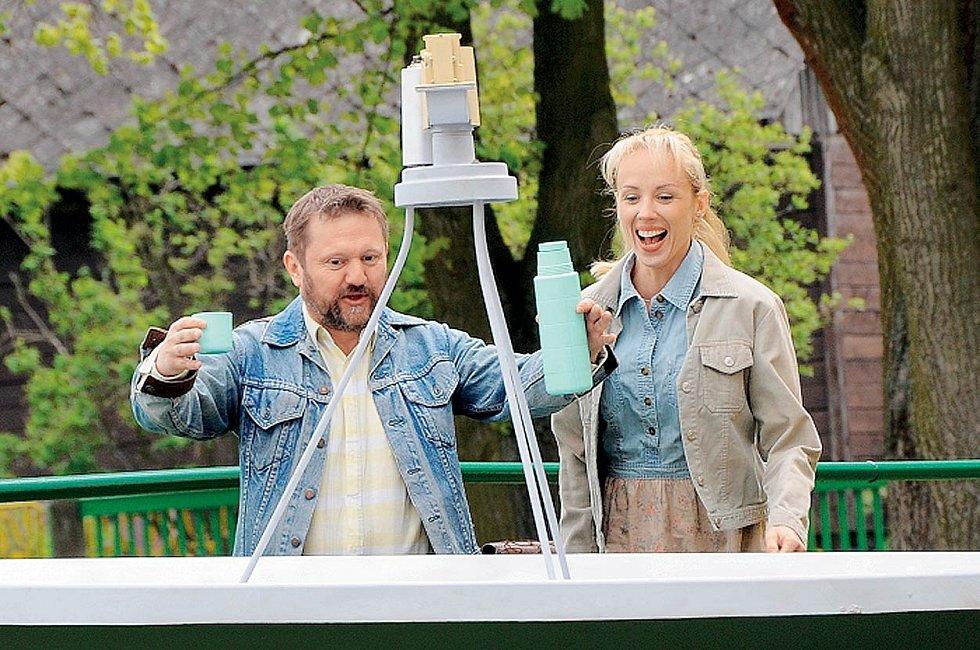 S Petrou Hřebíčkovou v novém filmu Štěstí je krásná věc