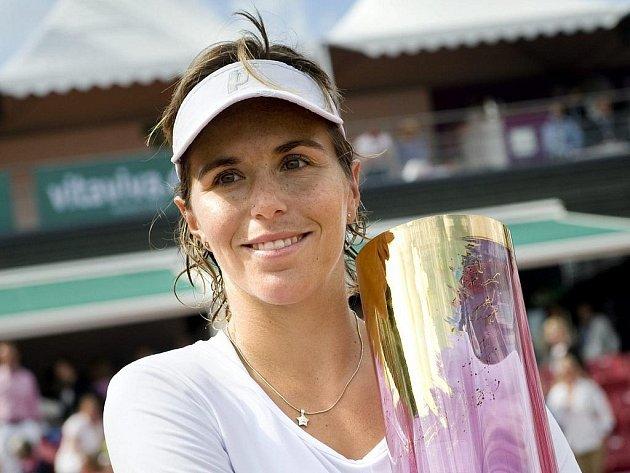Španělka Maria José Martinézová-Sanchezová vyhrála turnaj ve švédském Bastadu.