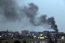 Turecký útok v Sýrii