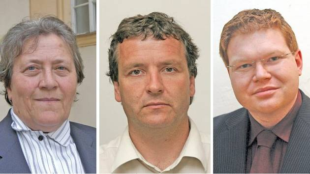 Úřednící Brno - střed - Dagmar Hrubá, Radovan Novotný, Michal Bortel.