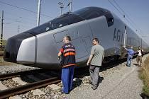 Rychlovlak AGV - lokomotiva