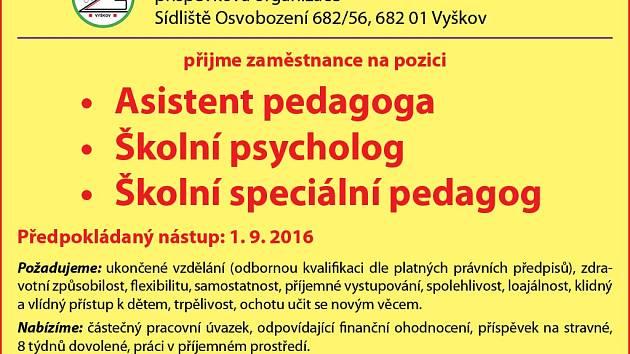 Základní škola a Mateřská škola Vyškov