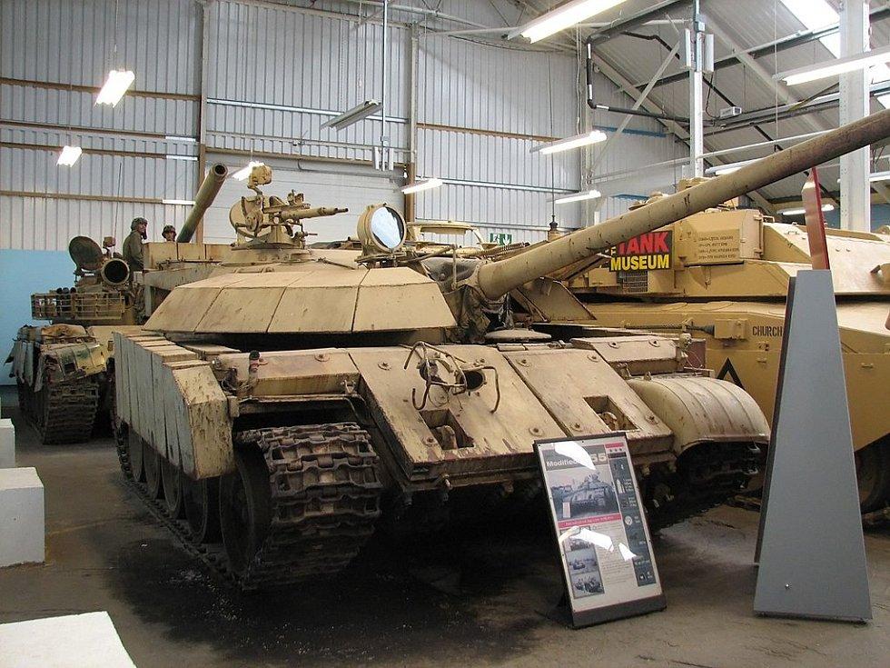 Irák nasadil do bitvy o Chafdží tanky T-55 ve vlastní modifikaci. Přezdívalo se jim Enigma