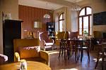 Hotel Nebespán je moderně zařízený.
