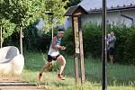 MS v orientačním běhu v Doksech: Miloš Nykodým během závodu