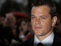 Matt Damon na londýnské premiéře filmu Bourneovo ultimátum