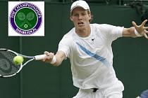 Tomáš Berdych nadále pokračuje v postupu tenisovým Wimbledonem.