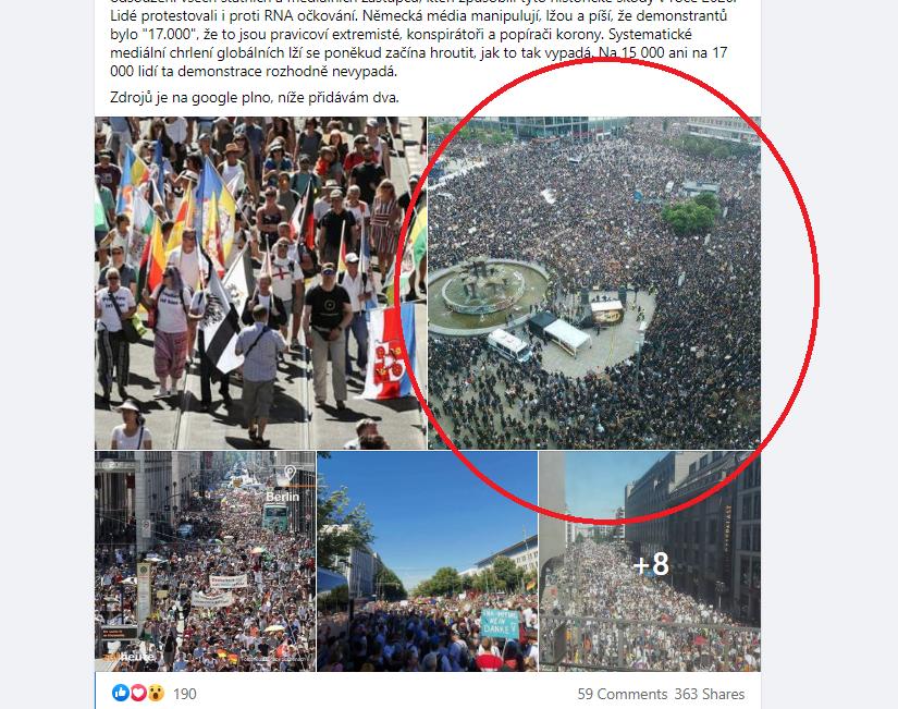 Další fotografie zachycovala berlínskou demonstraci proti rasismu z letošního června