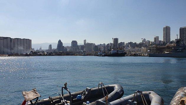 Výbuch v libanonském Bejrútu