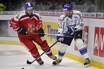 Jan Hejda (vlevo) a Petri Kontiola z Finska.