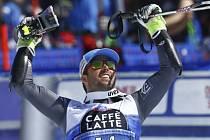 Thomas Fanara ovládl obří slalom SP ve Svatém Mořici.