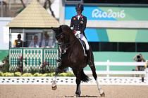 Charlotte Dujardinová s koněm Valegro.