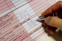 Daňové přiznání - Ilustrační foto