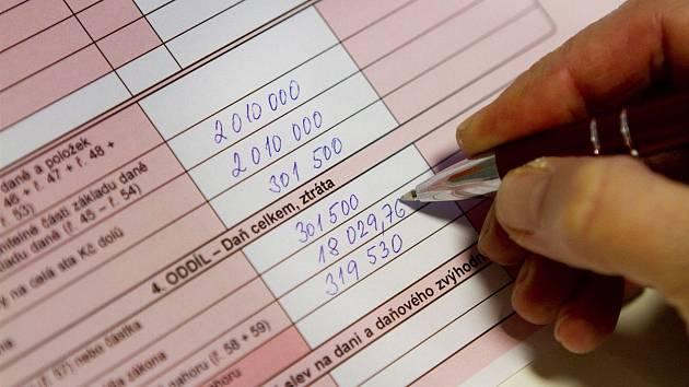 اظهارنامه مالیاتی - تصویر عکس