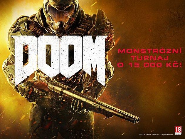 Turnaj v nové hře Doom.