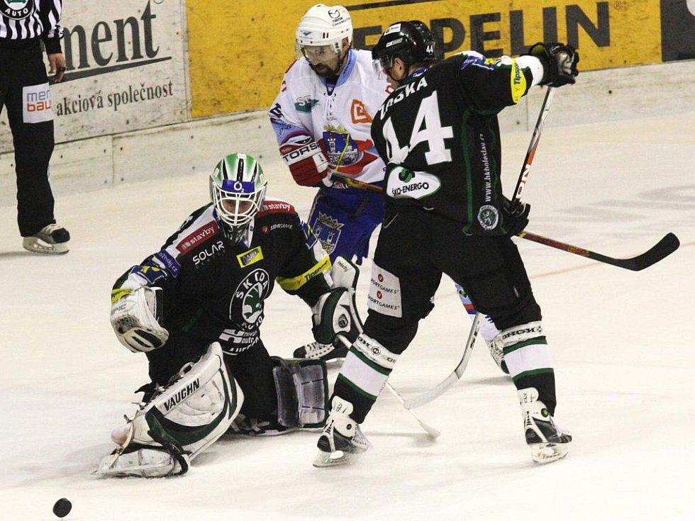 Hokejisty Boleslavi opět podržel gólman Marek Schwarz.