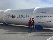 Koncept vysokorychlostního transportního systému Hyperloop. Ilustrační foto.