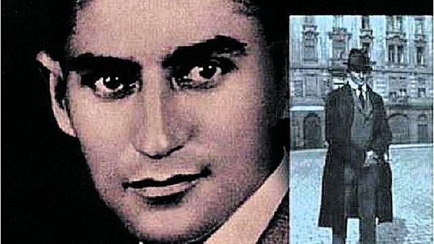 Obálka knihy Prahou Franze Kafky