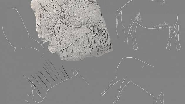 Rytiny v pískovcovém kameni jsou podle vědců přes 12 tisíc let staré