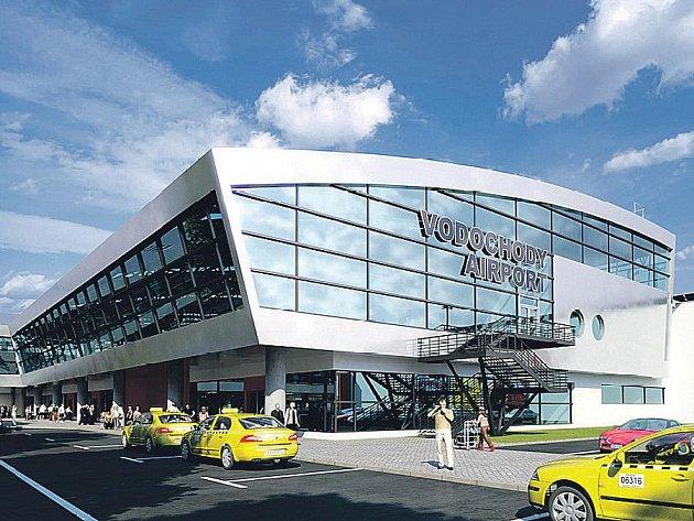 Takto má vypadat terminál letiště ve Vodochodech. Kdy to bude, však zůstává velkým otazníkem.