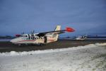 Odlet letounu L-410 v barvách aerolinek Zhetysu z kunovického letiště Aircraft Industries do Kazachstánu.