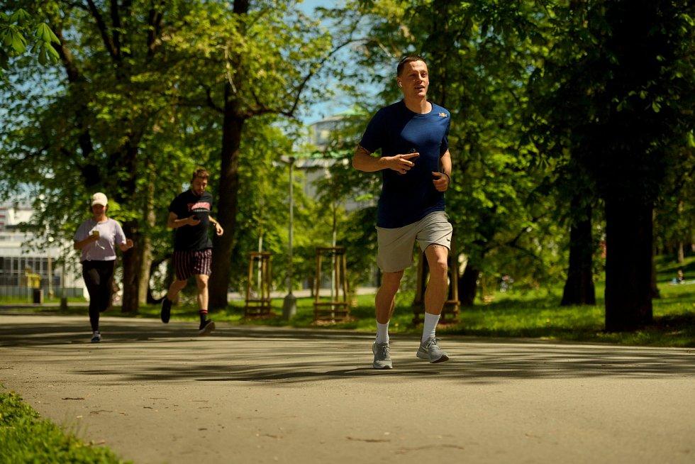 V českých končinách závodil i skateboardista Maxim Habanec
