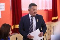 Nový mongolský prezident Khaltmaa Battulga