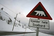 Fosilie byla nalezena na arktické výspě u norského Svalbardu. Ilustrační foto.