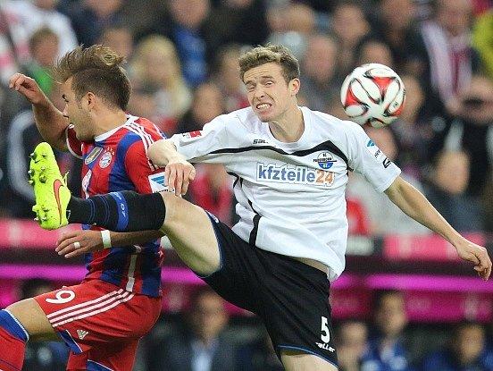 Fotbalisté Paderbornu prohráli na půdě Bayernu Mnichov