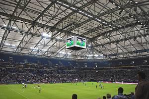 Veltins Arena, domovský stadion fotbalistů Schalke v Gelsenkirchenu