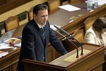 Radek Vondráček ve Sněmovně