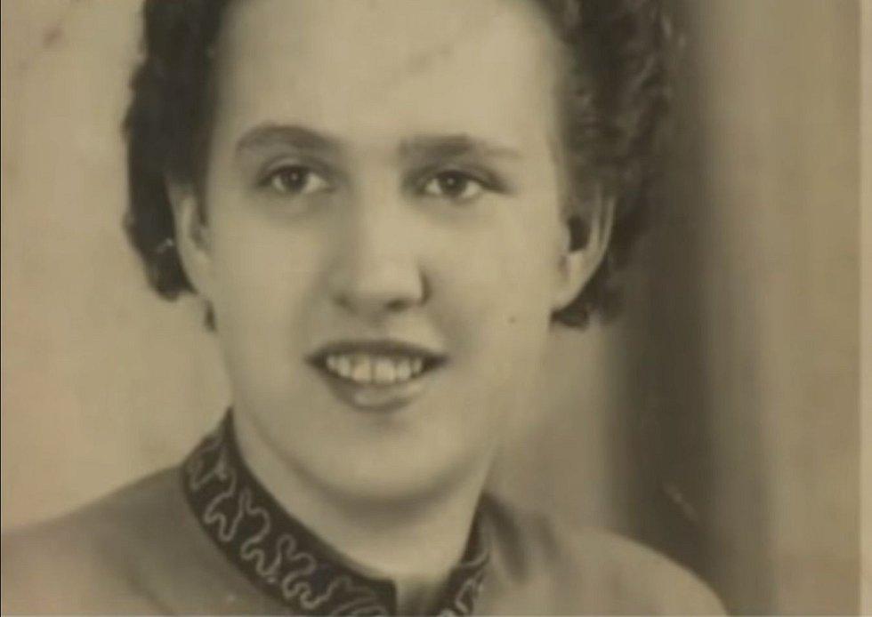 Herta Kasparová na civilním snímku