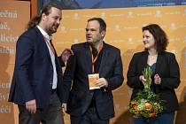 Ondřej Veselý, Michal Šmarda a Jana Maláčová