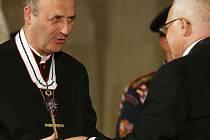 Vyznamenání ve Vladislavském sále: Jan Graubner
