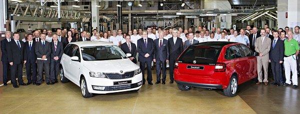 Škoda zahájila výrobu modelu Rapid Spaceback