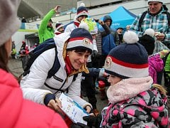Ostravský olympijský festival navštívila legenda běžeckého lyžování - Květa Jeriová-Pecková.