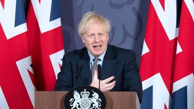 Britský premiér Boris Johnson oznamuje podrobnosti k dohodě Velké Británie a Evropské unie.