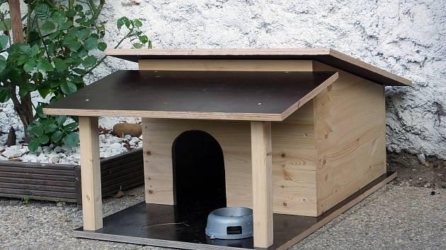 Poradíme, jak vyrobit letní přístřešek pro psa.