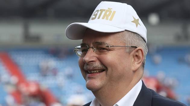 Šéf pražské Slavie Jaroslav Tvrdík