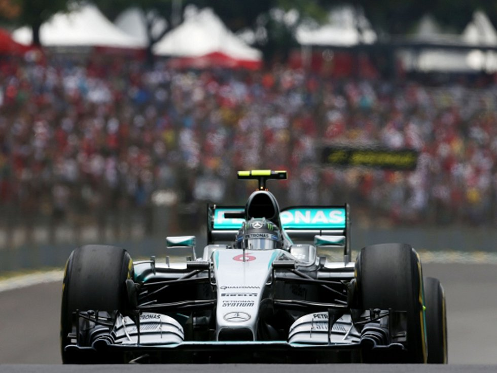 Nico Rosberg ve Velké ceně Brazílie.