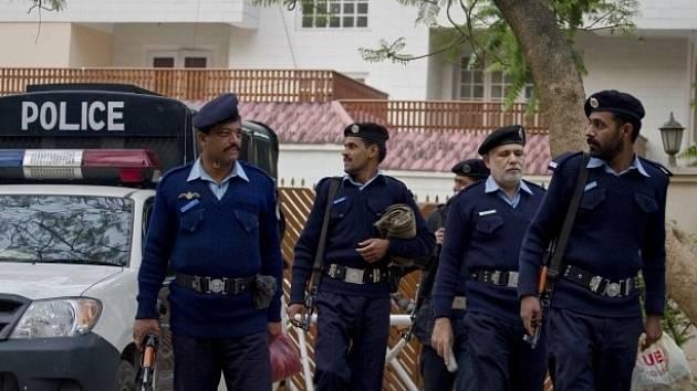 Pákistánští policisté. Ilustrační foto