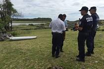 Vyšetřování na ostrově Réunion.