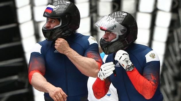 Bobisté Alexej Vojevoda (vlevo) a Alexandr Zubkov.