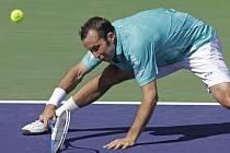 Radek Štěpánek na turnaji v Indian Wells.