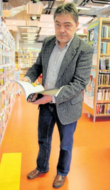 Ředitel knihovny Děčín Ladislav Zoubek
